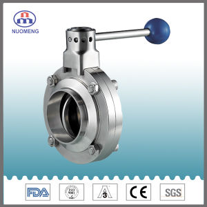 Stainless Steel Manual Welded Butterfly Valve (SMS-No. RD0212) pictures & photos