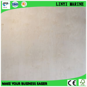 White Birch Plywood BB/CC Grade 18mm Products pictures & photos