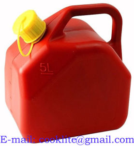 Plastic Gasoline Gas Can Jerry Style Diesel Fuel Can 5L pictures & photos