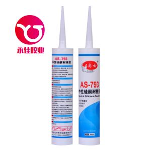 Neutral Weatherproof Silicone Sealant Adhesive (AS-793-01) pictures & photos
