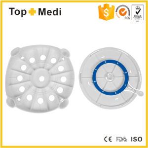 Topmedi Medical Equipment Bathroom Safety Rotatable Swivel Seat Shower Bath Chair pictures & photos