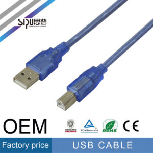 Sipu Factory Price Computer Cables Wholesale USB Plug Printer Cable pictures & photos