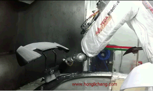 Complete Robot UV Hard Coating Line for Car Bumpers pictures & photos