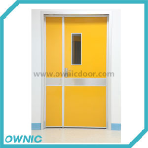 Cheap Price Steel Swing Door (one and half leaf) pictures & photos