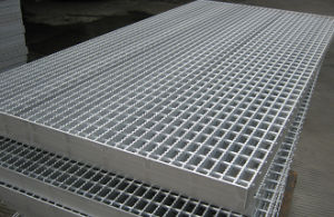 Galvanized Plain Steel Floor Grating pictures & photos