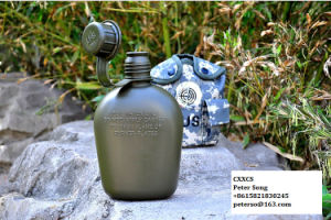 Manufacturer on Army Camo Canteen Military Water Bottle pictures & photos
