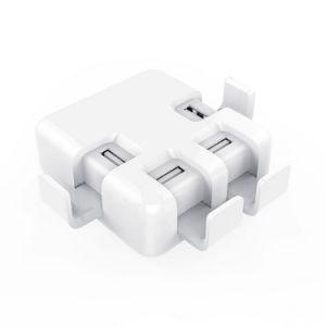 Us/EU/UK/Au Plug 6A USB Wall Charger 4 Port Desktop Charger pictures & photos