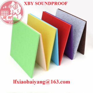 Noisy Stop Polyester Fiber Acoustic Panel Decoration Panel Board Sheet pictures & photos
