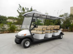 Ce Approved Electric Golf Cart for Tourist pictures & photos