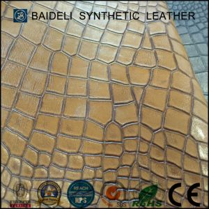 Pearly Coating PVC Material Synthetic Leather for Sofa/Bags/Shoes pictures & photos