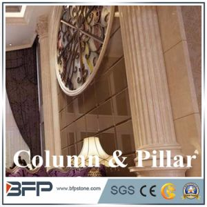 Light Marble Columns Marble Column pictures & photos