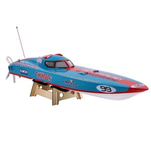 225bl061cp-Original Bl061cp 1350bp (Blue) Thunder Fs-Gt2 2.4G Transmitter High Speed 60km-H Electric RC Racing Boat pictures & photos