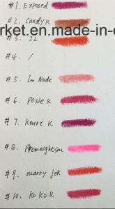 Kylie Matte Lipstick 12 Color Beautiful Good Quality Cosmetic Lip Stick pictures & photos