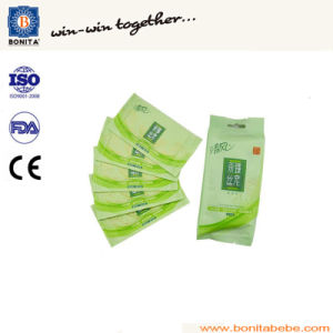 Bnt-300 Wet Tissue Folding and Packing Machine (1~2PCS/pack) pictures & photos