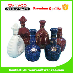 China High Quality Best Price Ceramic Wine Bottle for Storaging Wine pictures & photos