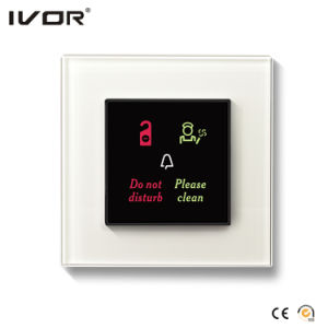 Hotel Doorbell System Outdoor Panel Glass Frame (HR-dB1000S2R-AGL) pictures & photos