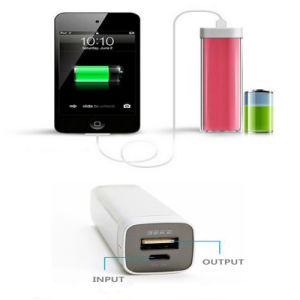 2600mAh Portable Lipstick Power Bank Mobile Phone Accessories pictures & photos