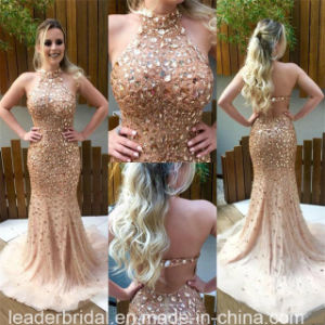 Celebrity Dresses Cocktail Party Prom Gowns Beading Evening Dress Ld11541 pictures & photos