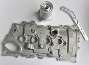 Customer Design Nonstandard Engine Cover (machining, machined parts factory/manufacturer) pictures & photos
