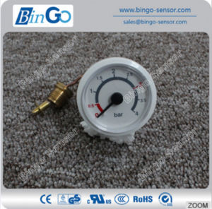 37mm Dial Capillary Pressure Gauge for Boiler, Wall Hung Furnace pictures & photos