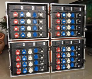 3 Phase 400A Camlock Electrical Supply Box