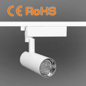 Lowest Price 40/60/80mm Head Size LED Track Light with Sun Visor pictures & photos