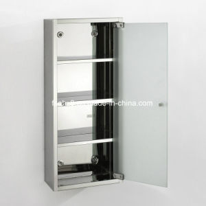 Quality First Stainless Steel Furniture Bathroom Mirror Cabinet (7029) pictures & photos