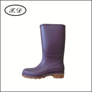 PVC Rain Fashion Boots for Woman pictures & photos