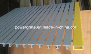 Pultruded FRP/GRP Fiberglass Grating Gray Color pictures & photos