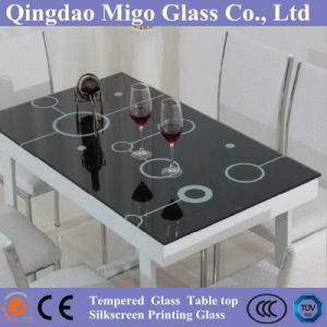 Tempered Glass Table Top, Decorative Furniture Glass pictures & photos