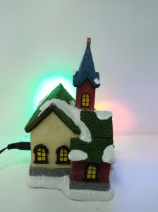 2017 New Type Village Model Resin Miniature House for Deco pictures & photos