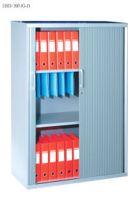 Metal File Cabinet with Roller Shutter Door and Adjust Shelves pictures & photos