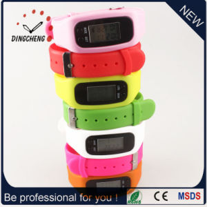 Fashion Bracelet Watch Pedometer Wristwatch Sport Watches (DC-001) pictures & photos