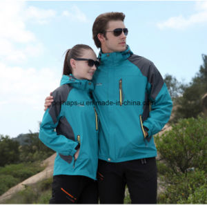 Spring and Autumn High Quality Jacket Windbreaker Climbing Clothes pictures & photos
