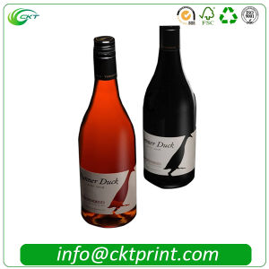 Cheaper Custom Wine Sticker Labels Printing in China (CKT-LA-413)