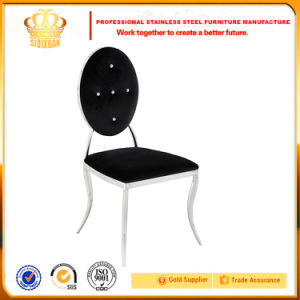 Least Design Wedding Banquet Stainless Steel O Back Dining Chairs for Hotel pictures & photos