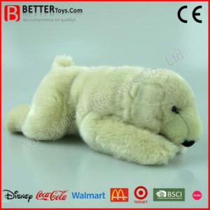 Realistic Stuffed Plush Toy Polar Bear pictures & photos