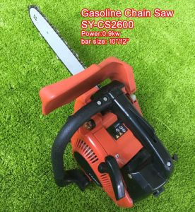 Gasoline Chain Saw CS2600 26cc 12inch pictures & photos