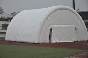 Outdoor White PVC Inflatable Sport Tent Tunnel Tent for Event pictures & photos