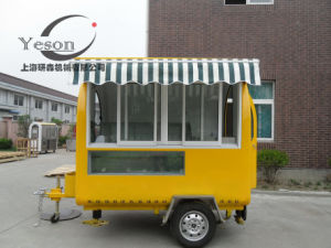 Buy Mobile Food Truck and China Mobile Food Cart Trailer Snack Stand pictures & photos