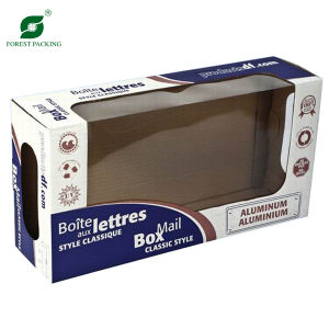 Paper packaging boxes with window pictures & photos
