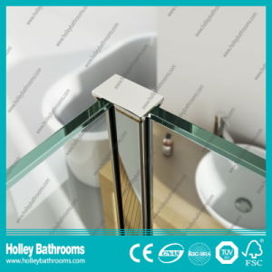 High Class Walkl-in Shower Set with Tempered Laminated Glass (SE929C) pictures & photos