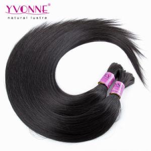 Peruvian Straight Human Hair Bulk Hair Extensions pictures & photos
