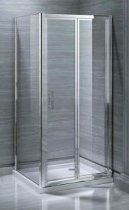 Bathroom MID-Range 6mm Bifold Door Shower Enclosure (MR-BF7090) pictures & photos