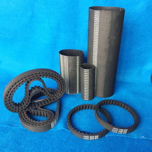Black Rubber Synchronous Belt with High Quantity pictures & photos