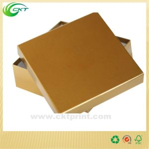 Customized Cardboard Gold Metallic Paper Packaging Solution (CKT- CBM-035) pictures & photos