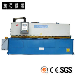 Hydraulic Shearing Machine, Steel Cutting Machine, CNC Shearing Machine HTS-4010 pictures & photos