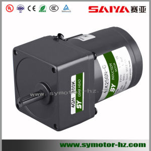 180W 104mm AC Induction Gear Motor pictures & photos