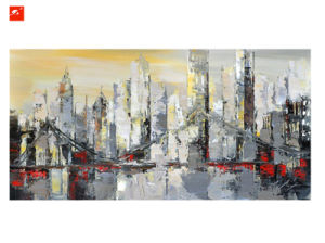 Abstract Architecture Oil Painting pictures & photos