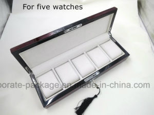 Customize Wood Watch Packaging display Gift Case pictures & photos